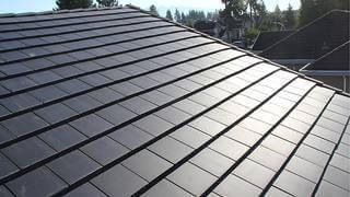 Bild på takpannor för solenergi