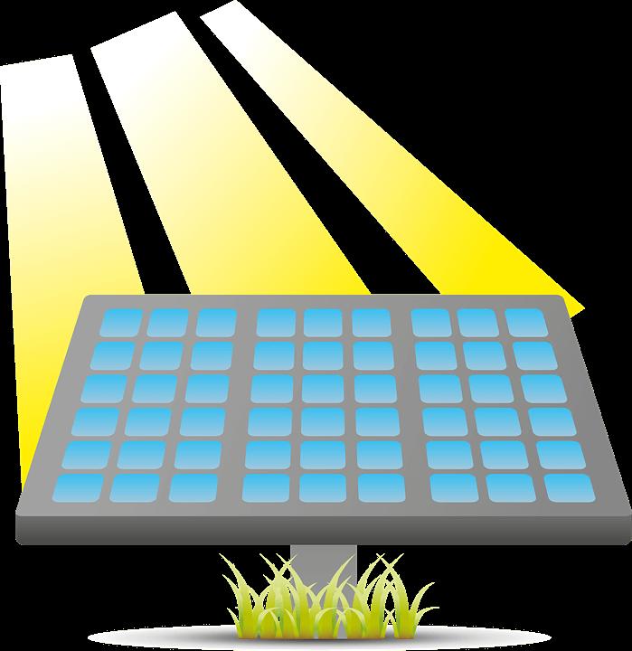 Bild pa solpaneler