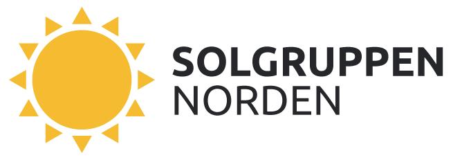 Bilden visar logo solgruppen norden